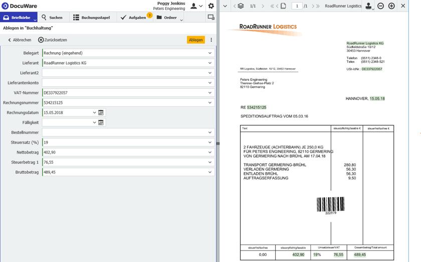 Rechnungsverarbeitung Beträge Und Pflichtangaben Automatisch Prüfen