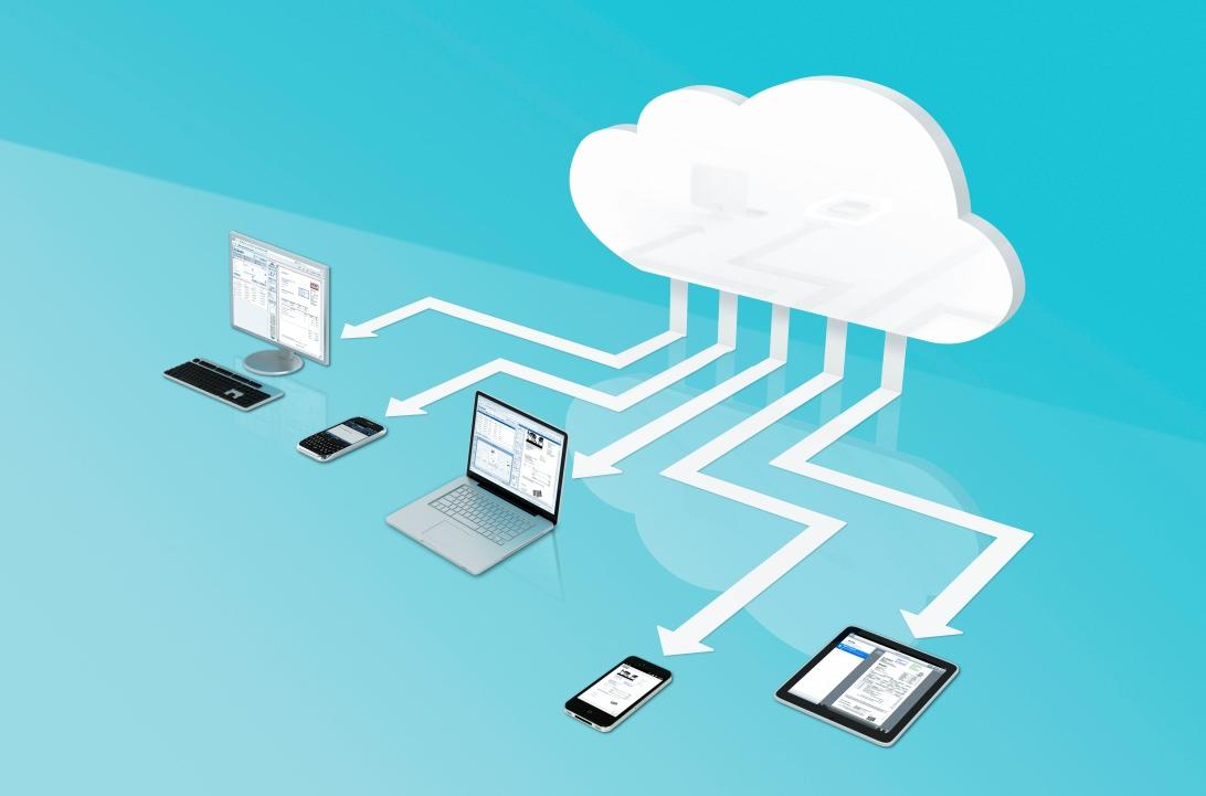 Vorteil Skalierbarkeit: DocuWare Cloud lässt sich leicht an die Unternehmensgröße anpassen.